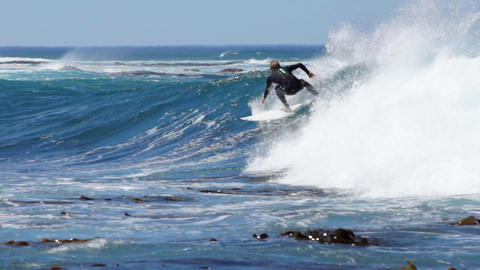 Surfer Stock Video Footage