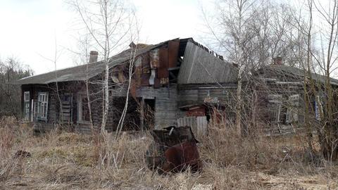 Old Rural House Footage