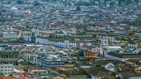Quito Capital Presentation stock footage