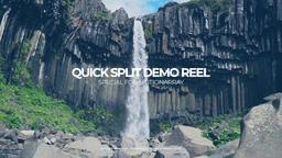 Premier Quick Demo Reel Premiere Proテンプレート