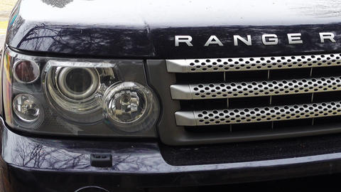 New Land rover Range rover, Bumper and grille with headlights Footage