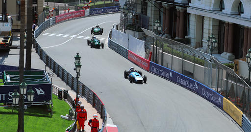 Old Racing Cars of Grand Prix Historique of Monaco 2018 Live Action