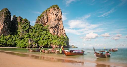 Beautiful Tropical Beach Thailand 영상물