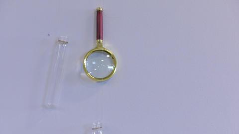 Vial Magnifying Glass 영상물