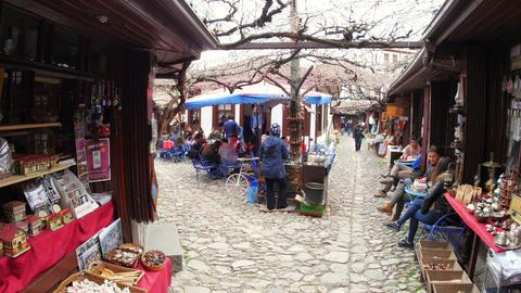 SAFRANBOLU, TURKEY - MAY 2015: Traditional Ottoman marketplace Footage
