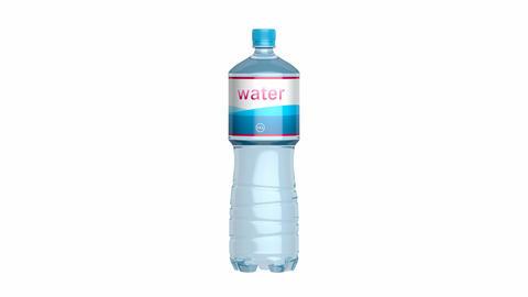 Bottled water Animation