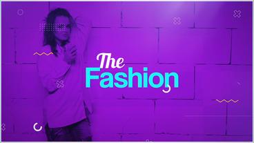 The Fashion Plantilla de After Effects