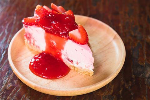 homemade cheesecake Photo