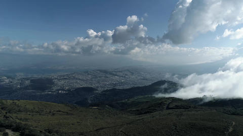 View of the city and the canyon, Mountains 영상물