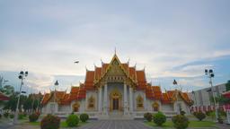 The Marble Temple, Wat Benchamabopitr Dusitvanaram Bangkok THAILAND Archivo