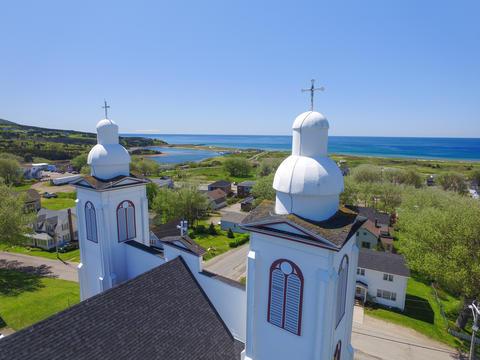 Inverness, Nova Scotia- Stella Marris Church フォト