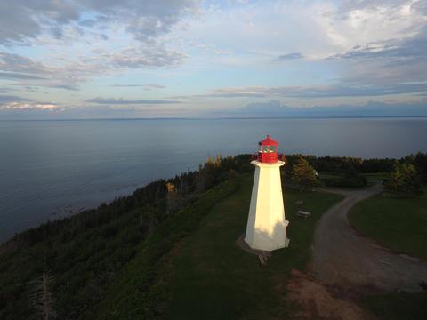 Cape George Lighthouse, Nova Scotia Fotografía