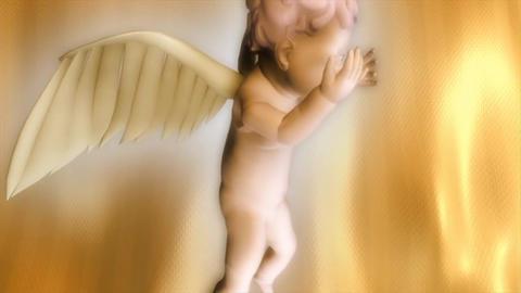 Angel kiss heart love valentine 影片素材