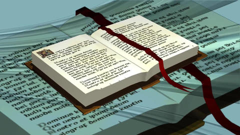 Bible book christian religion Footage