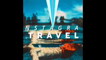 Instagram Travel After Effectsテンプレート