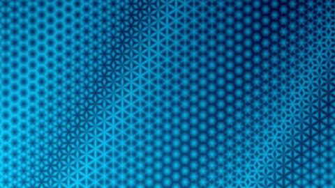 Starry Blue Pattern Background CG動画素材
