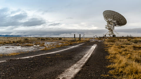 Road to Radio Telescope Footage