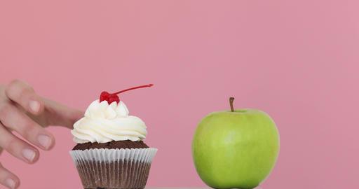 Choosing healthy diet Footage
