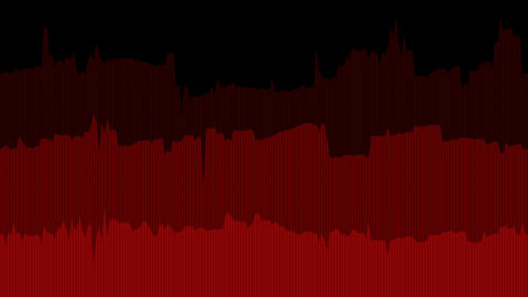 Red Data Line Graph Animation