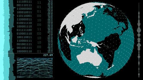 Global Coordinates HUD 애니메이션