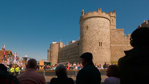Prince Harry and Meghan Markle Royal Wedding at Windsor Castle, Berkshire, Live Action