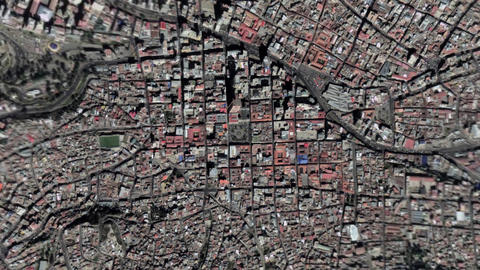 Earth Zoom In Zoom Out La Paz Bolivia Live Action