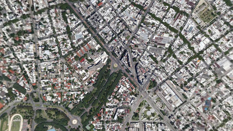 Earth Zoom In Zoom Out Montevideo Uruguay Live Action