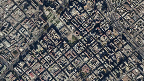 Earth Zoom In Zoom Out Santiago Chile Live Action
