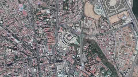 Earth Zoom In Zoom Out Luanda Republic of Angola Live Action