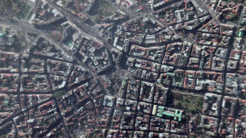 Earth Zoom In Zoom Out Belgrade Serbia Live Action