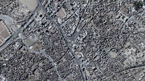 Earth Zoom In Zoom Out Sanaa Yemen Live Action
