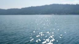 Nam Ngum Lake in Laos Footage