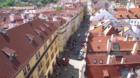 Mala Strana district in Prague GIF