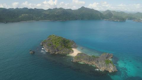 Seascape of Caramoan Islands, Camarines Sur, Philippines Photo