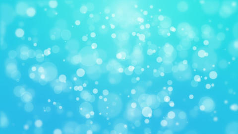 Bright blue particle background Animation