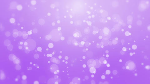 Bright purple particle background Animation