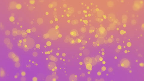 Colorful particle background Animación