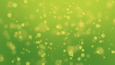 Colorful green yellow particle background GIF
