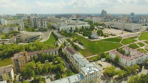 Aerial view of Samara city Archivo
