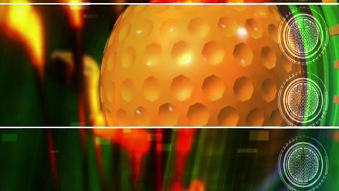 Golf ball equipment sport Footage