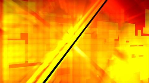 Lights orange blocks design rays Footage