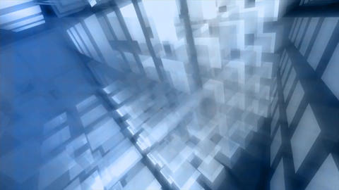 Retro blocks grid forms abstract Footage