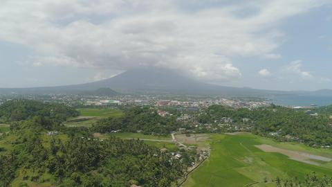 Legazpi city in the Pihilippines, Luzon フォト