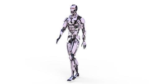Robot Walk GIF