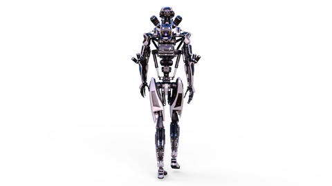 Robot Walk 애니메이션