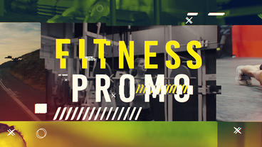 FINESS PROMO After Effects Template