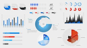 Infographic Elements After Effects Template