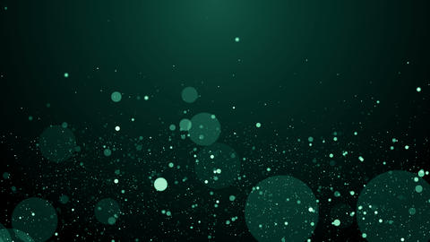 Particles dust bokeh abstract light motion titles cinematic background loop Animación