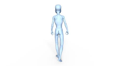 Alien Grey 4K Animation