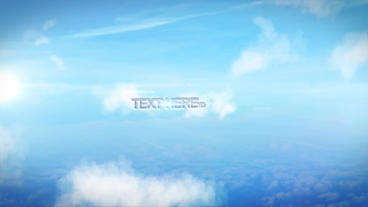 Simple Sky Flythrough After Effects Project